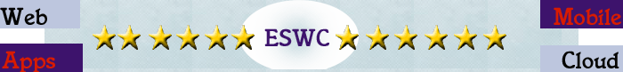 ESWC - Web - Apps -Mobile - Cloud - one world of software at the European Software Conference in Munich - top banner
